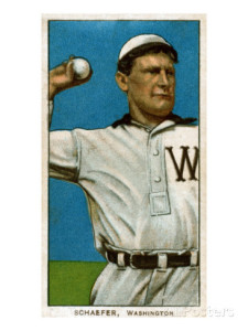 germany schaefer-baseball-card