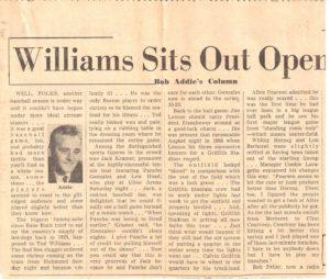 bob-addie-washington-post-newspaper-article-april-15-1958