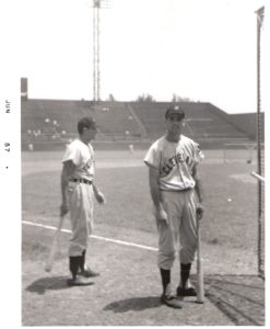 Rocky Colavito, Indians Right Fielder posing for a photo