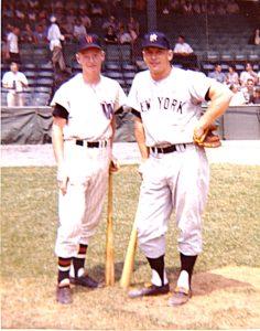 Mickey Mantle & Jim Ryan