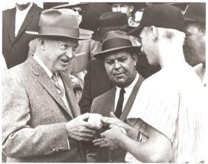 President Eisenhower & Jim Ryan
