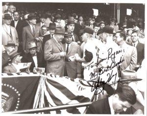 President Dwight D. Eisenhower, Jim Ryan and Billy Turner